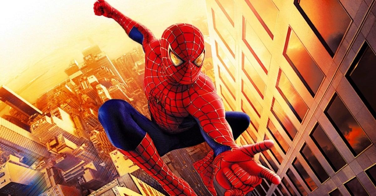 Spider-Man 2002 Sam Raimi Tobey Maguire