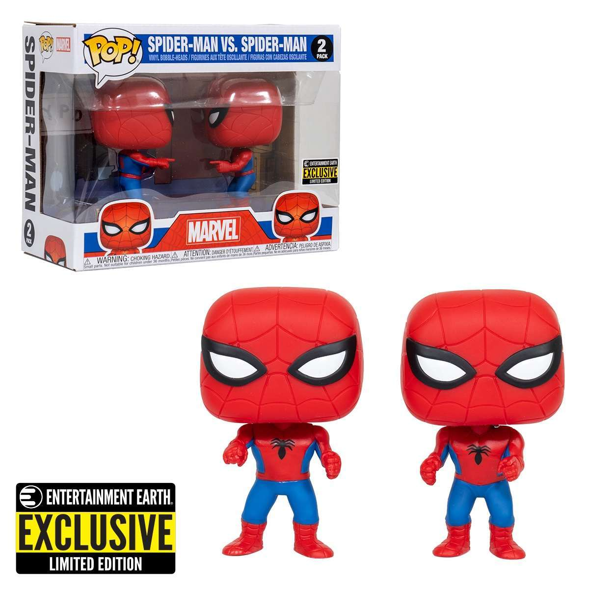 Funko S Spider Man Impostor Pop 2 Pack Exclusive Is Shipping Now