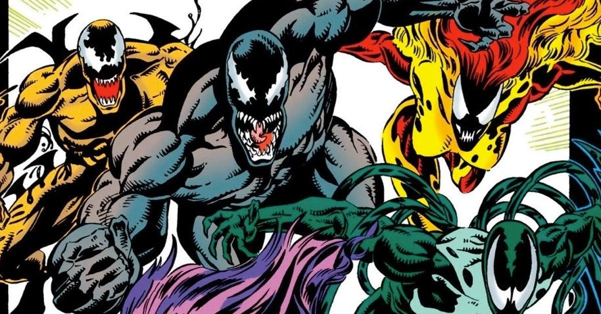 spider-man symbiotes