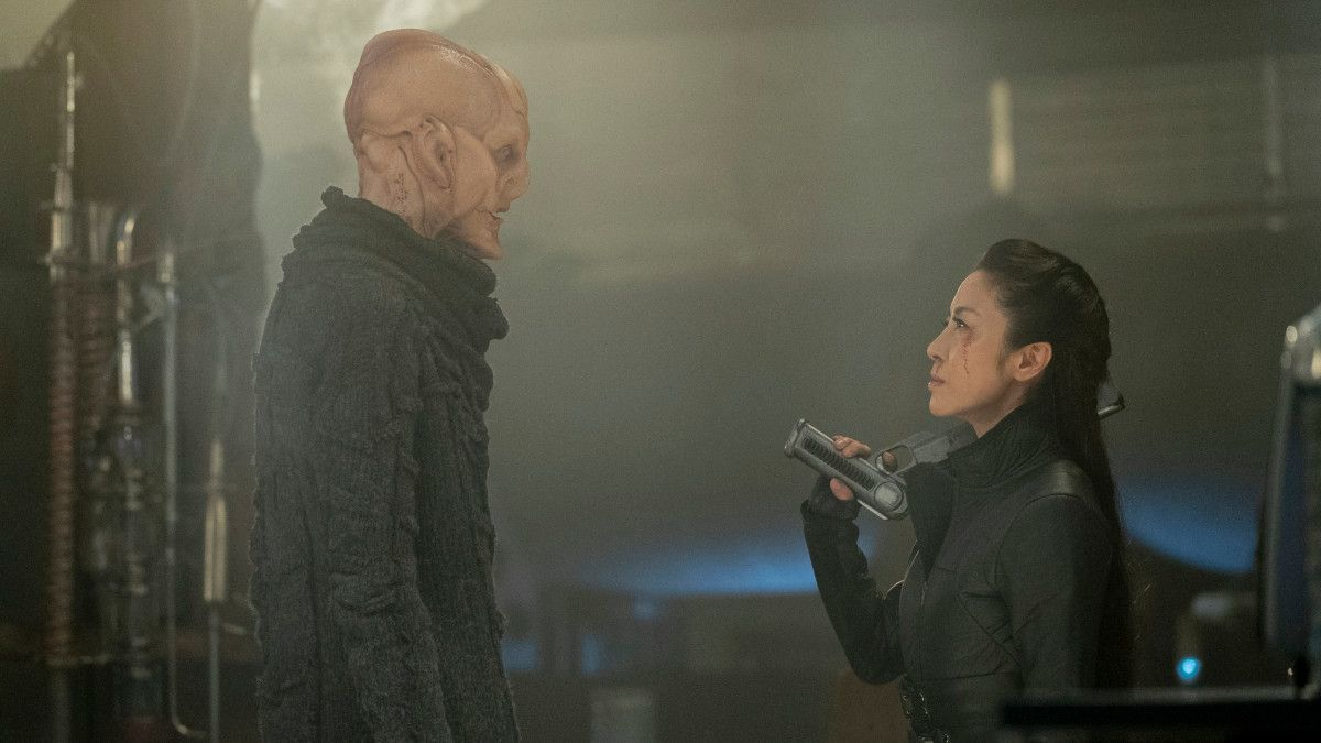 Star Trek Discovery Season 3 Mysteries Doug Jones Saru