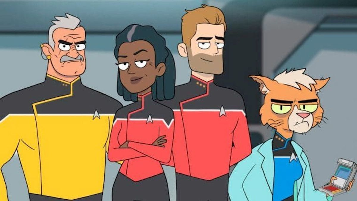 Star Trek Lower Decks Crew