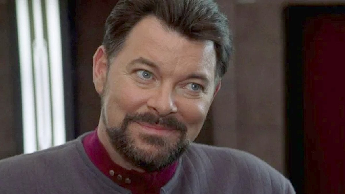Star Trek Nemesis riker jonathan frakes titan