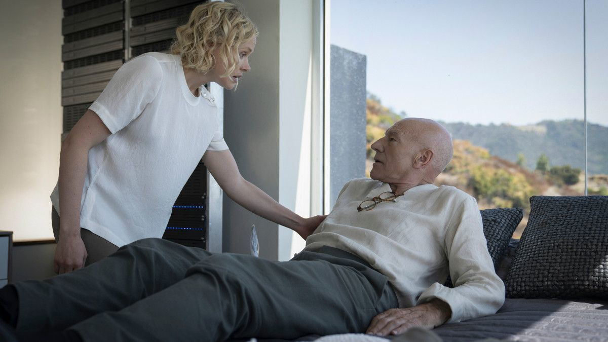 Star Trek Picard Season 2 Captain Picard Android Body