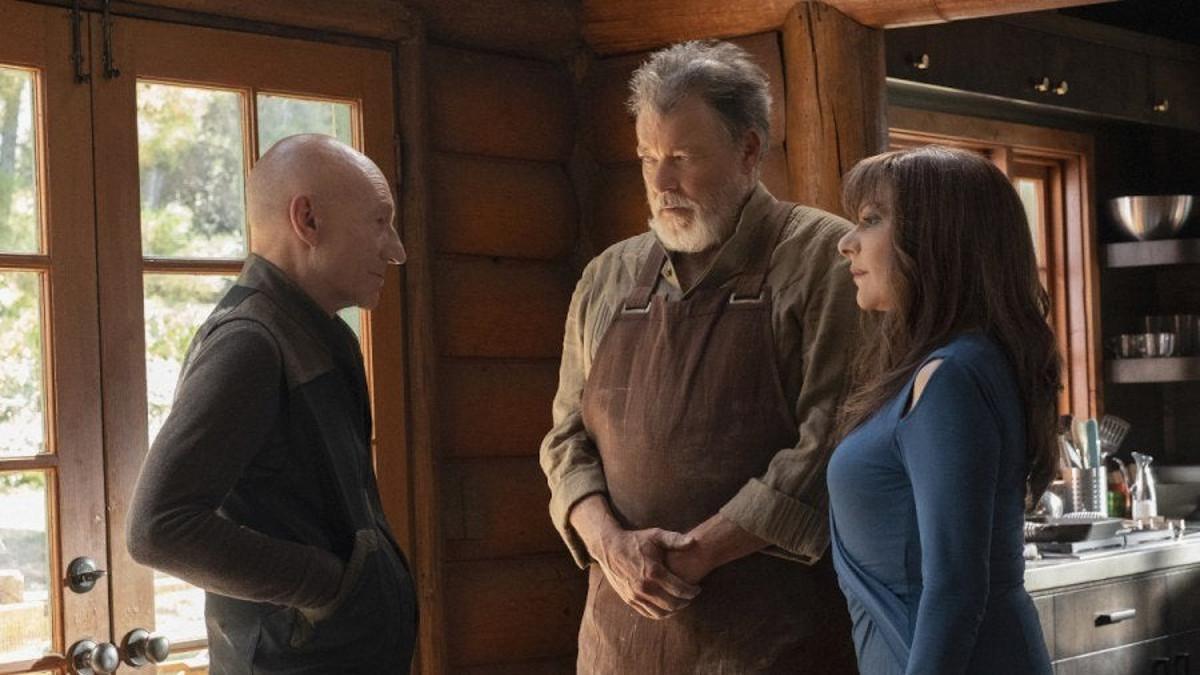 Star Trek Picard Season 2 Next Geneartion Cast Patrick Stewart