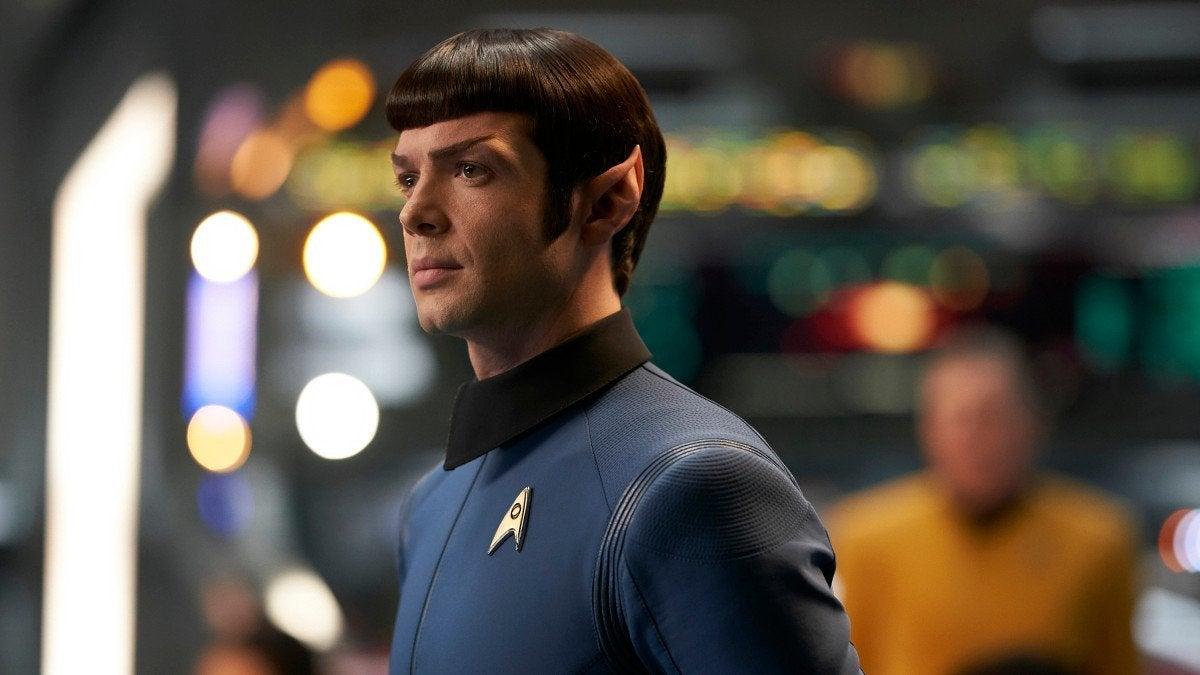 Star Trek Strange New Worlds Ethan Peck Spock Pon Farr
