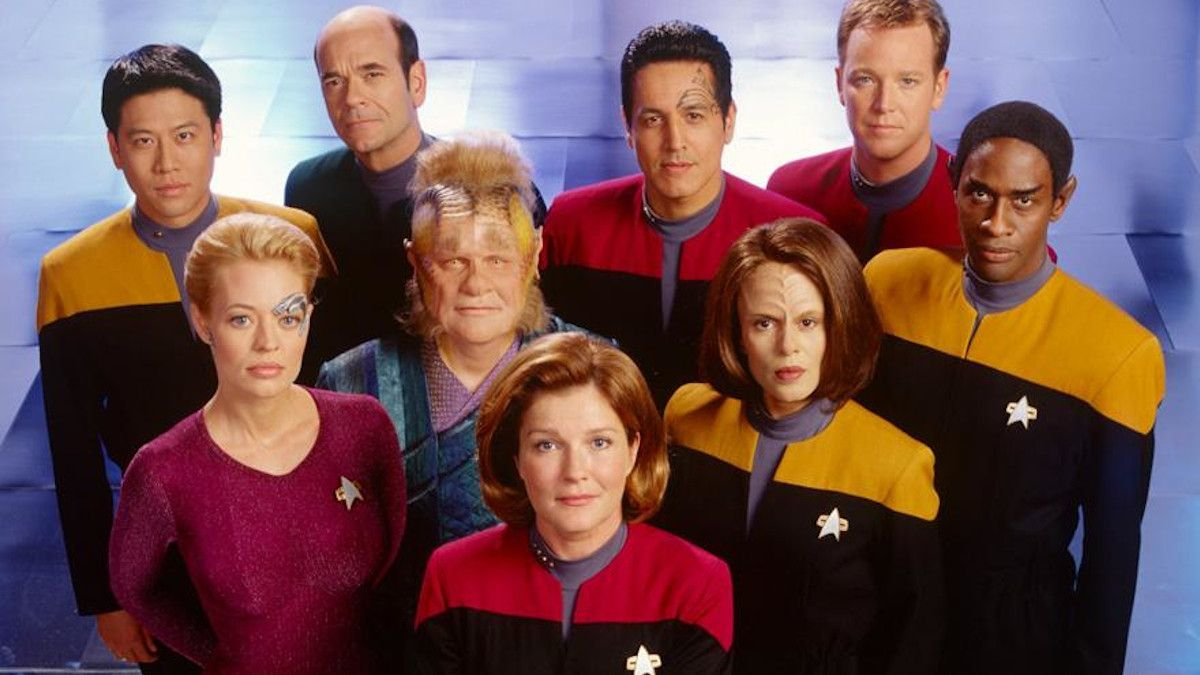 Star Trek Voyager Reunion