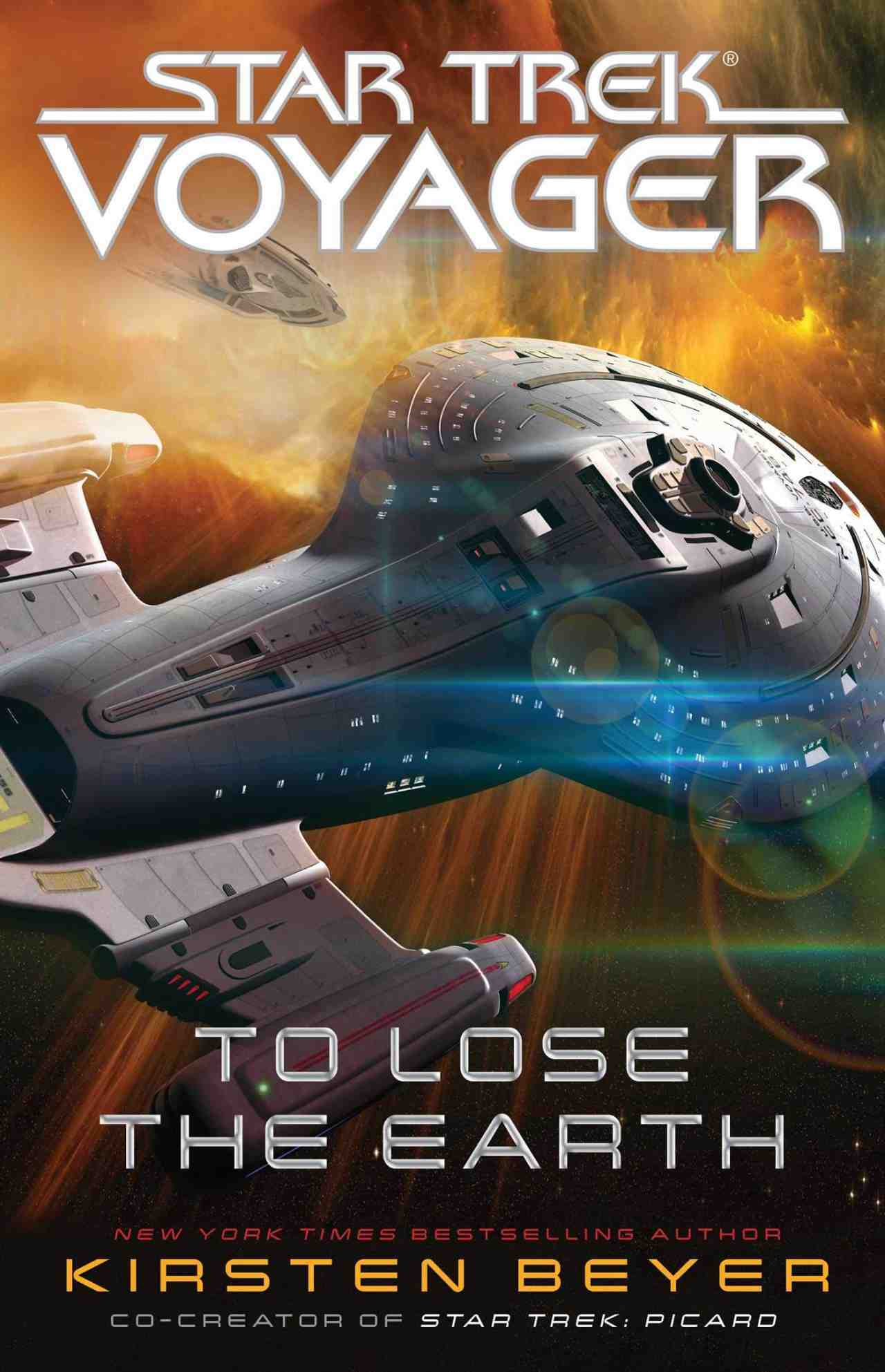 Star Trek voyager to lose the earth cover