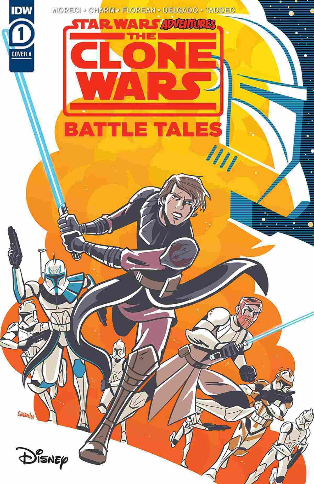 Star Wars Adventures Clone Wars #1