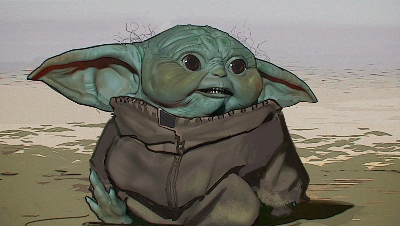 star wars baby yoda concept design 2