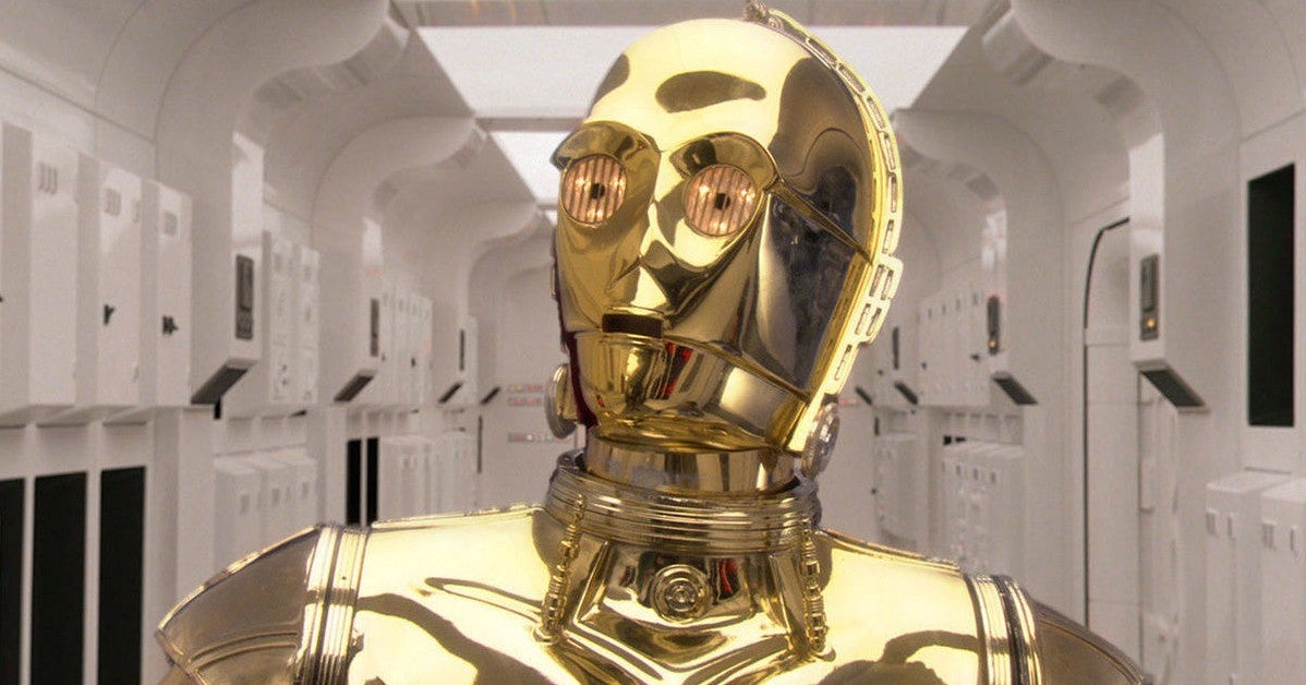 Star Wars C-3PO NSFW Topps Trading Card True Story