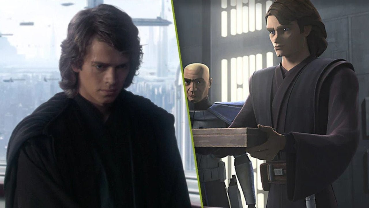 Star Wars The Clone Wars Puts A Twist On Hayden Christensen S Revenge Of The Sith Dialogue