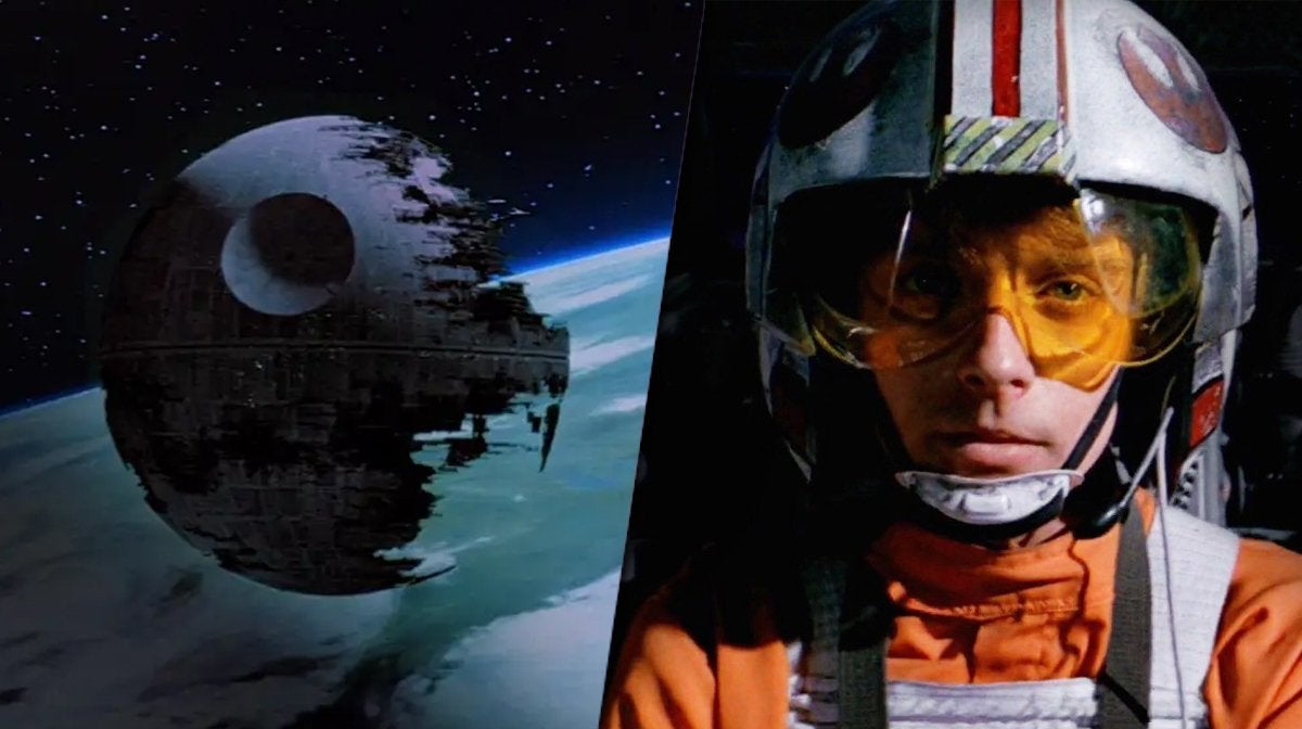 star wars death star mark hamill luke skywalker