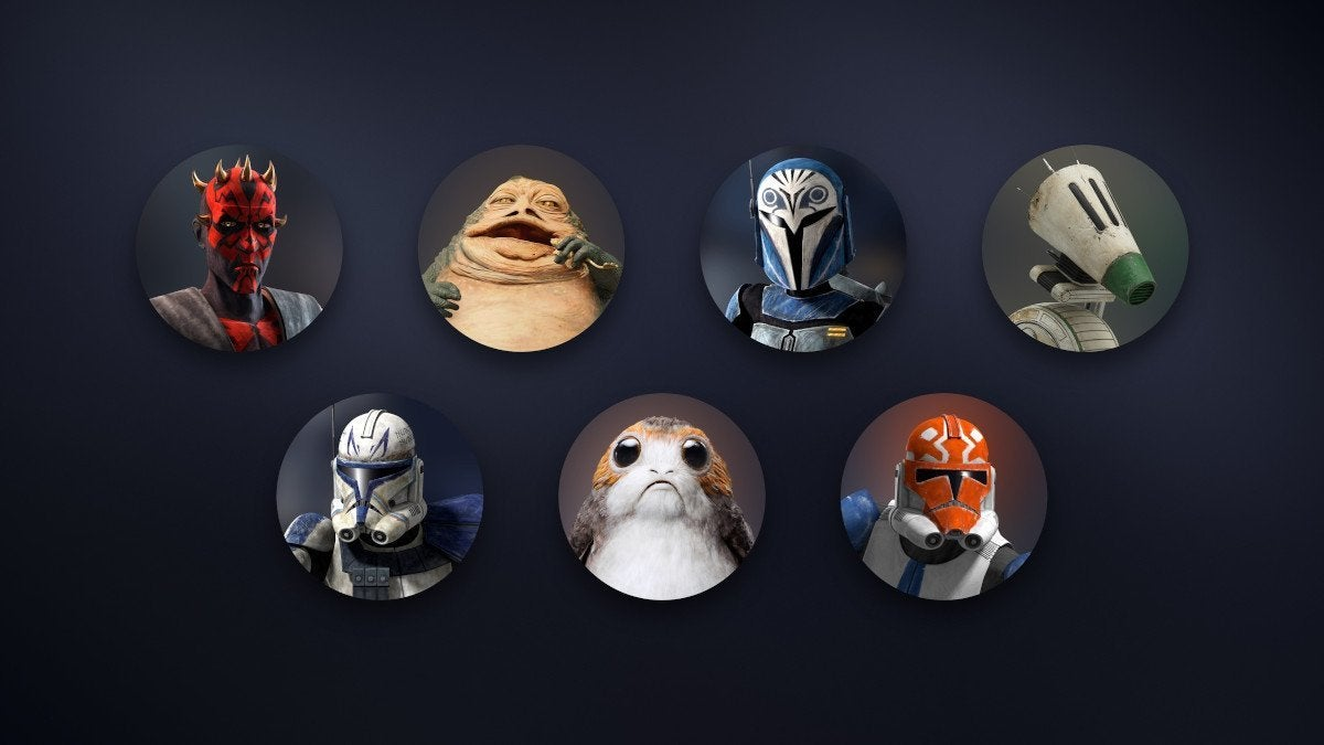 Star Wars Disney+ Icons