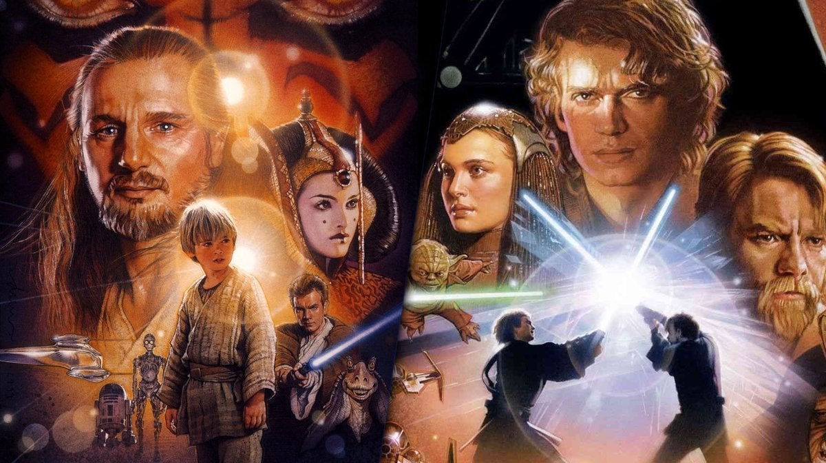 star wars phantom menace evenge of the sith