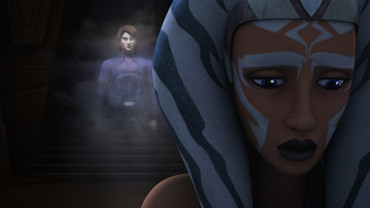 Star Wars Rebels Shroud of Darkness Ahsoka Anakin