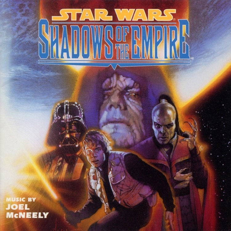 Star Wars Shadows of the Empire Album Cover