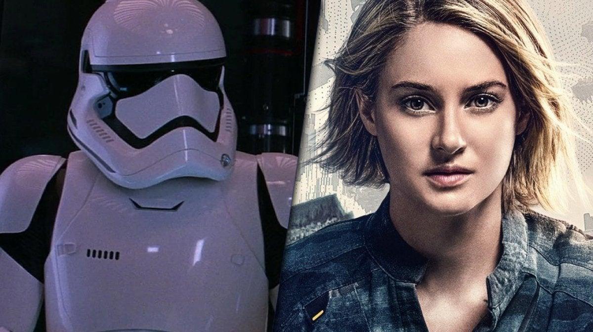 star wars shailene woodley stormtrooper