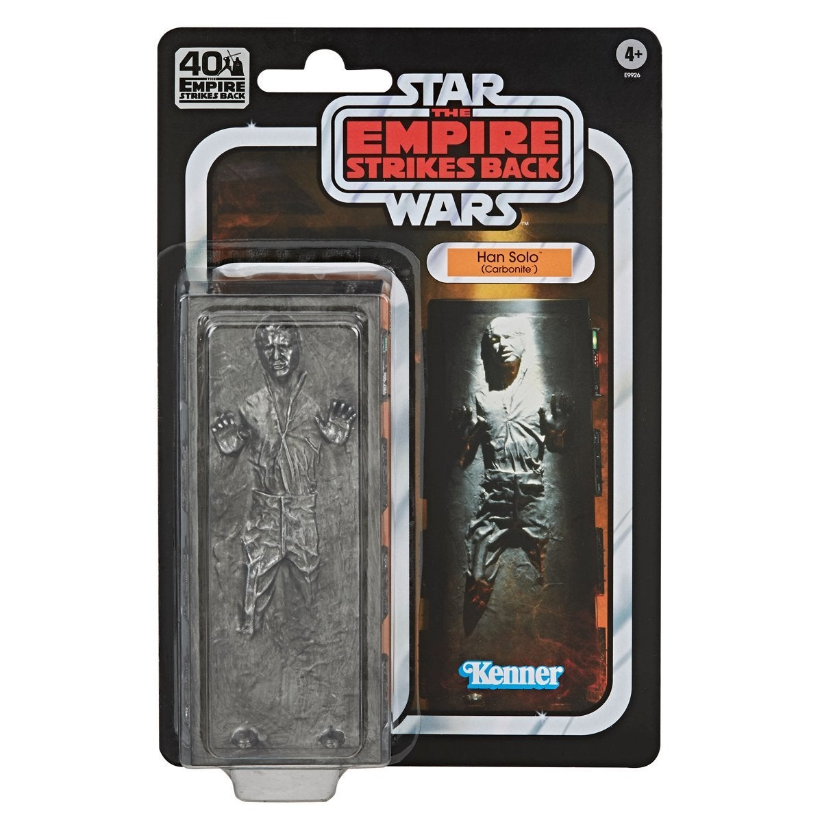 STAR WARS THE BLACK SERIES 6-INCH HAN SOLO (CARBONITE) Figure - in pck