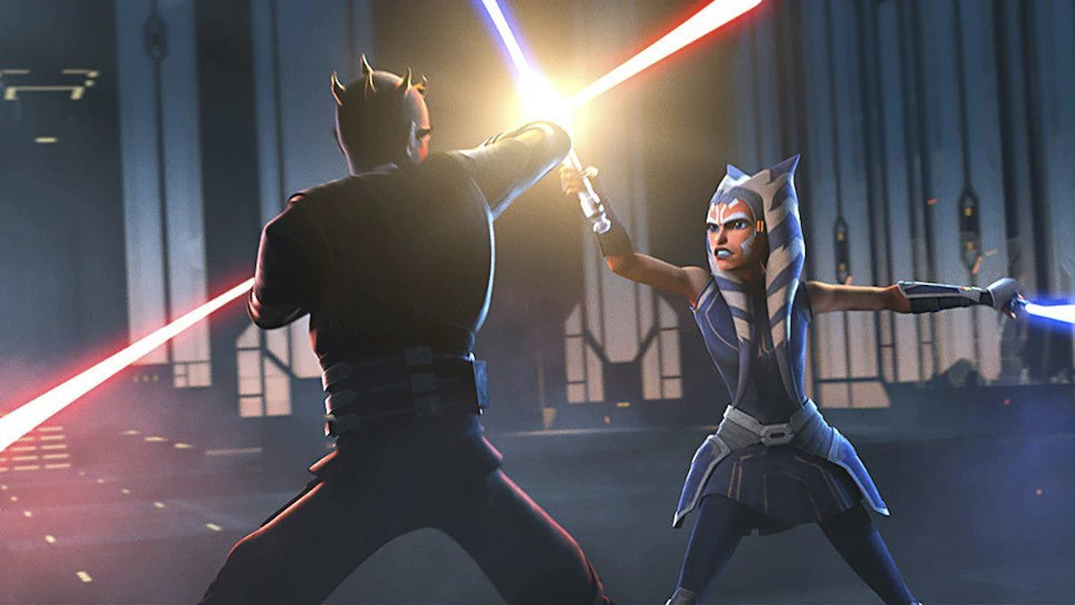 Star Wars The Clone Wars Ahsoka Maul Shattered
