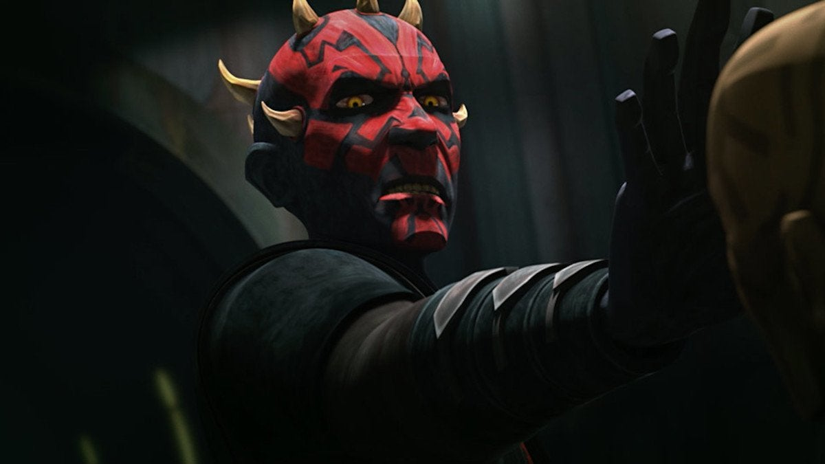 Star Wars The Clone Wars Finale Darth MAul