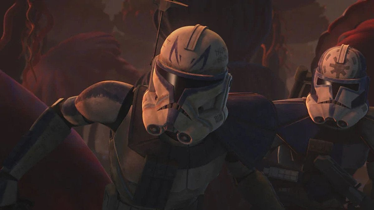 Star Wars The Clone Wars Rex Order 66
