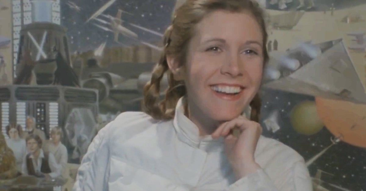 star wars the empire strikes back carrie fisher