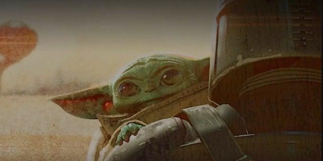 Star Wars The Mandalorian Baby Yoda