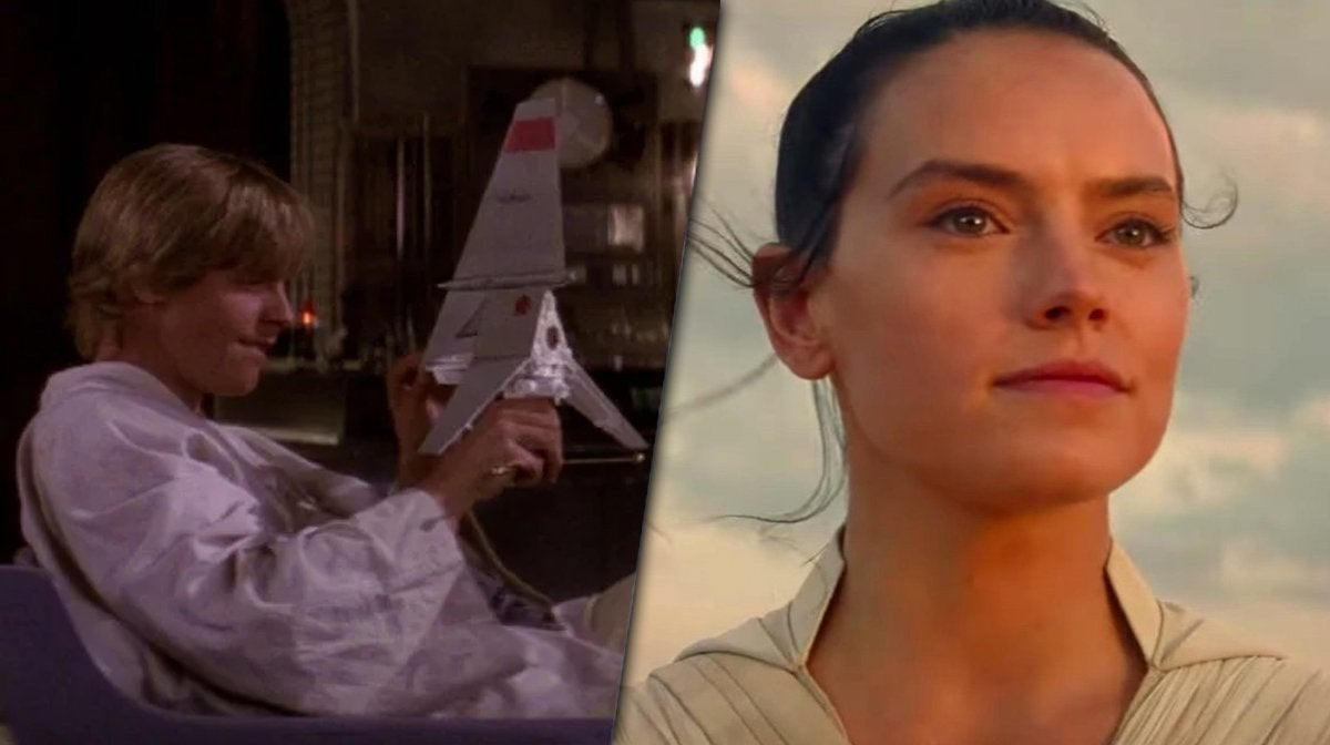 star wars the rise of skywalker luke rey tatooine scene