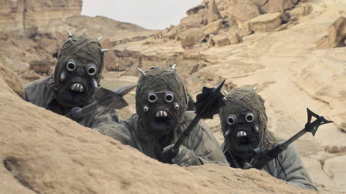 Star Wars The Rise of Skywalker Rey Concept Art Tuskan Raiders