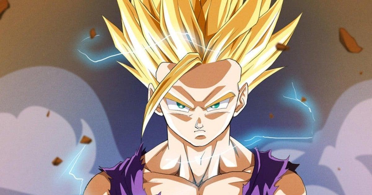 Super Saiyan 2 Gohan Shintani Style Anime Animation