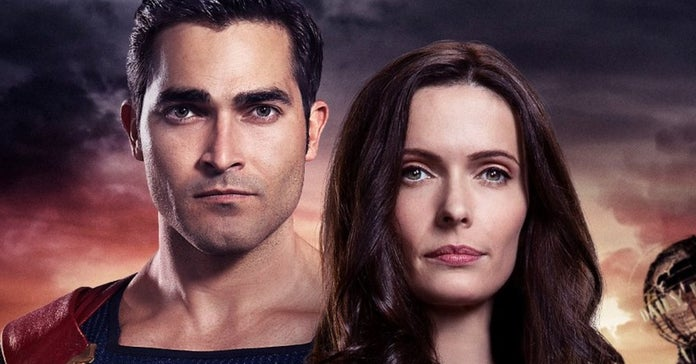 superman & lois poster the cw