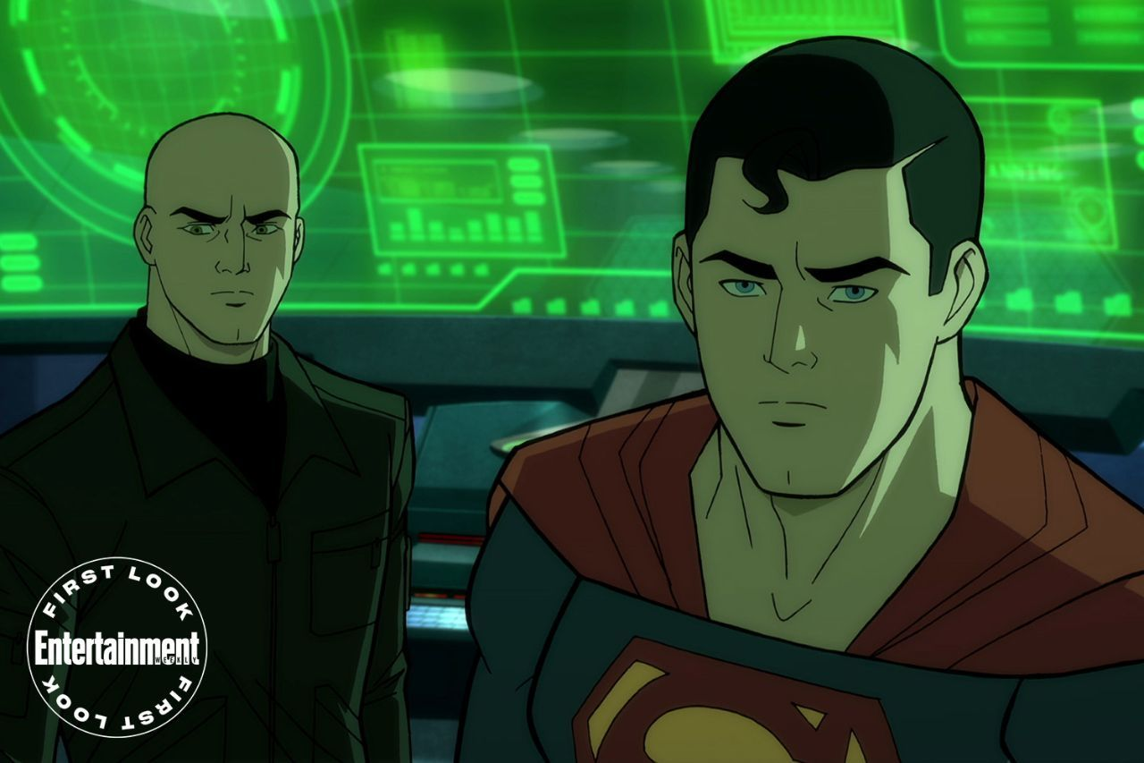 Dc Animation Gets A Brand New Look In First Photo Of Next Superman Movie