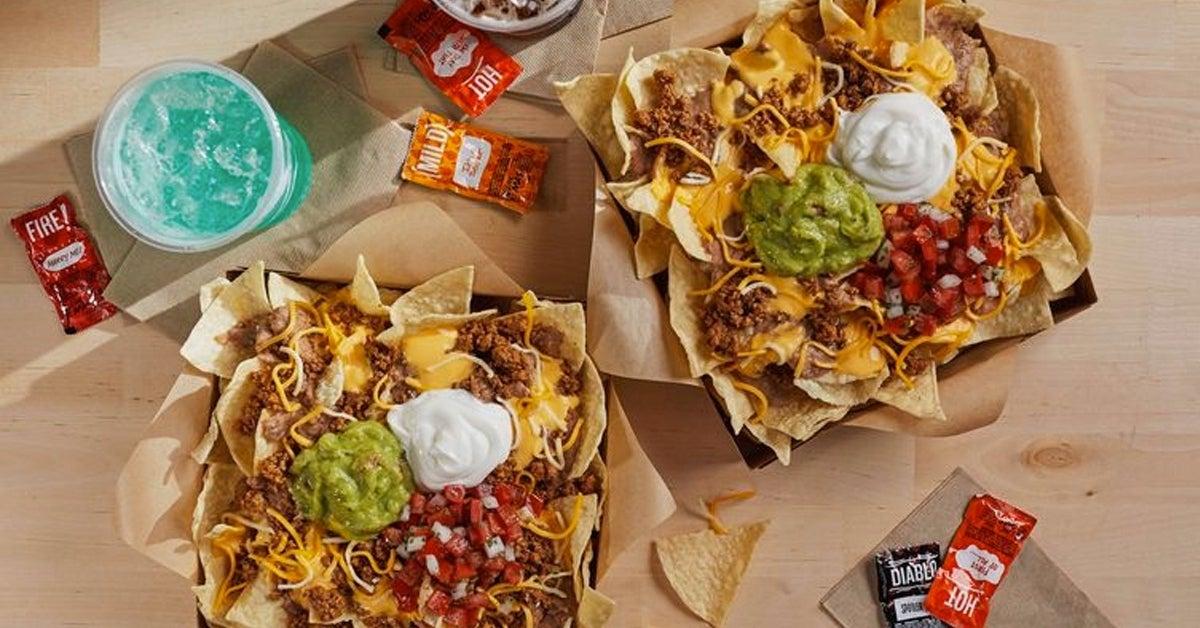 taco bell nachos 10 box