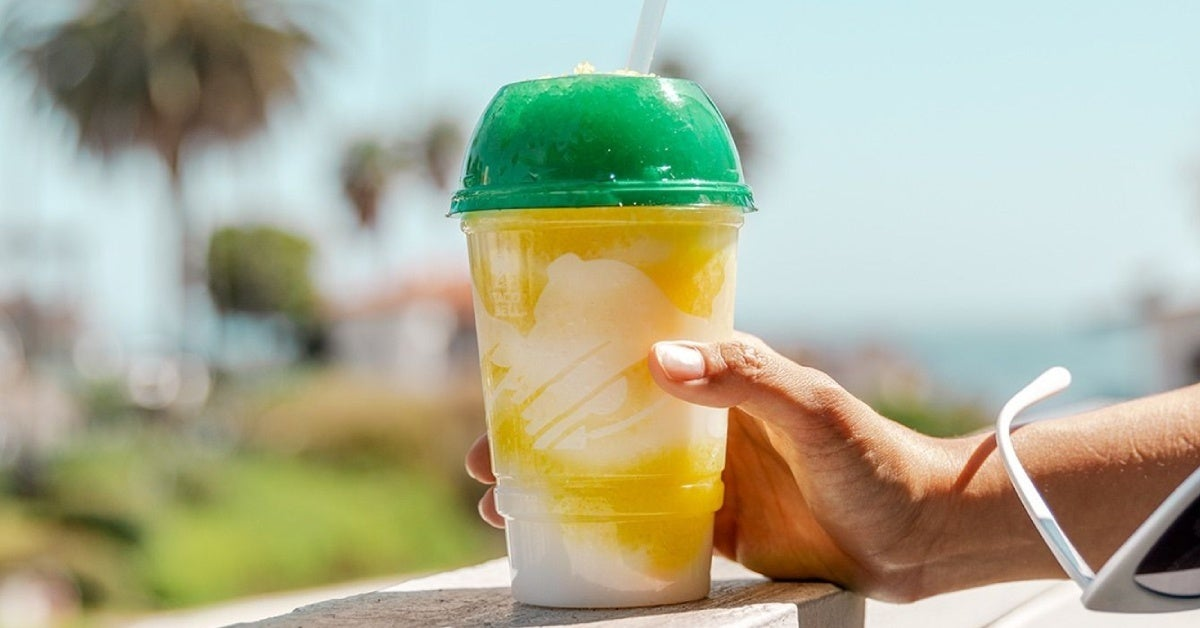 taco bell pineapple whip freeze