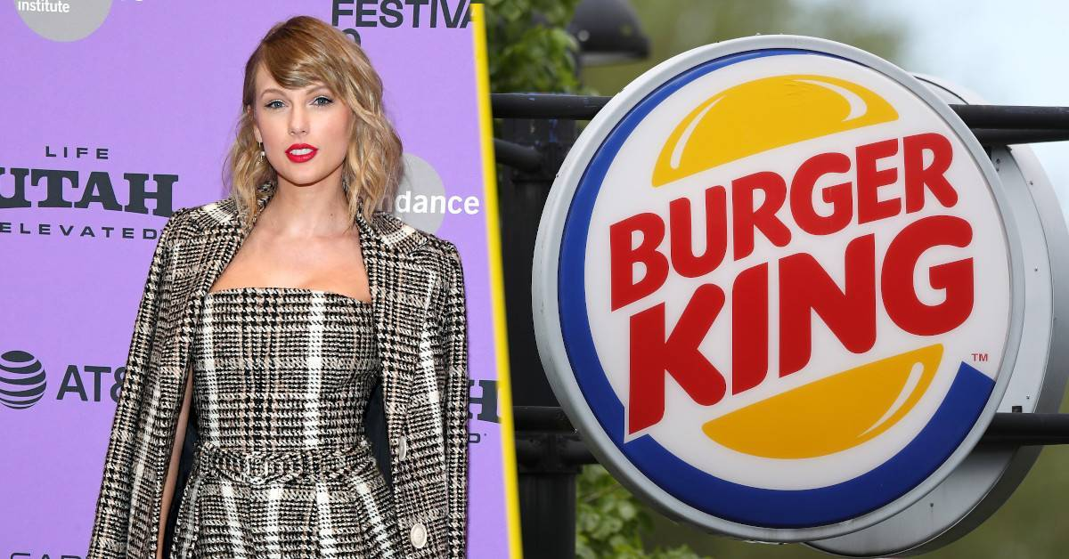 taylor swift burger king is over party tweet