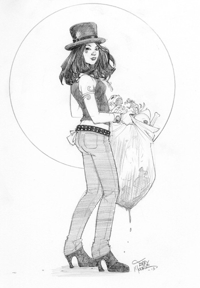 Terry Moore - Death