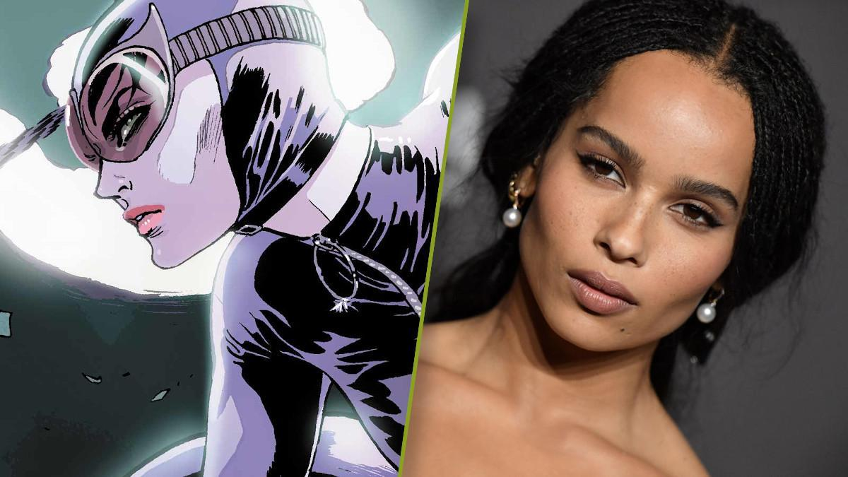 The Batman Catwoman Zoe Kravitz