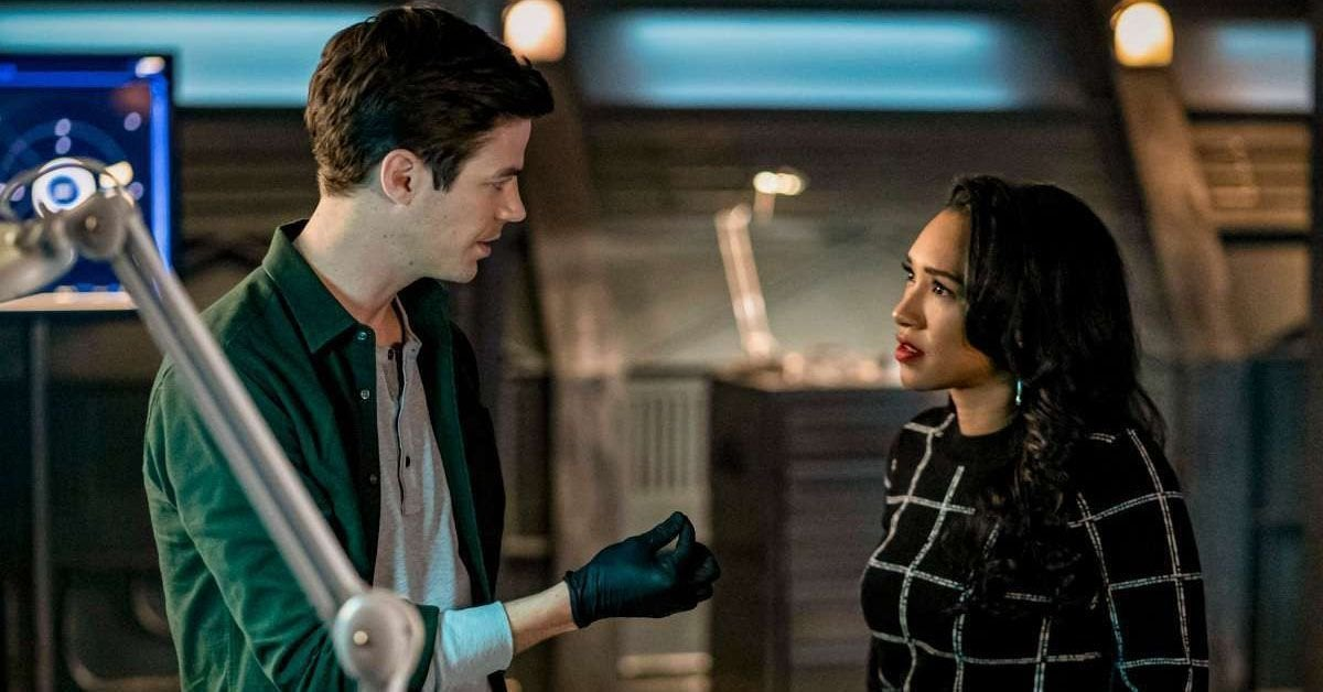 the flash barry iris unfinished business season 6