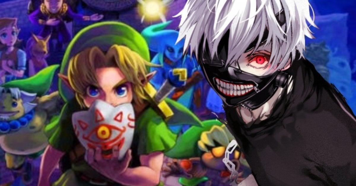 The Legend of Zelda Majora's Mask Anime Opening Tokyo Ghoul