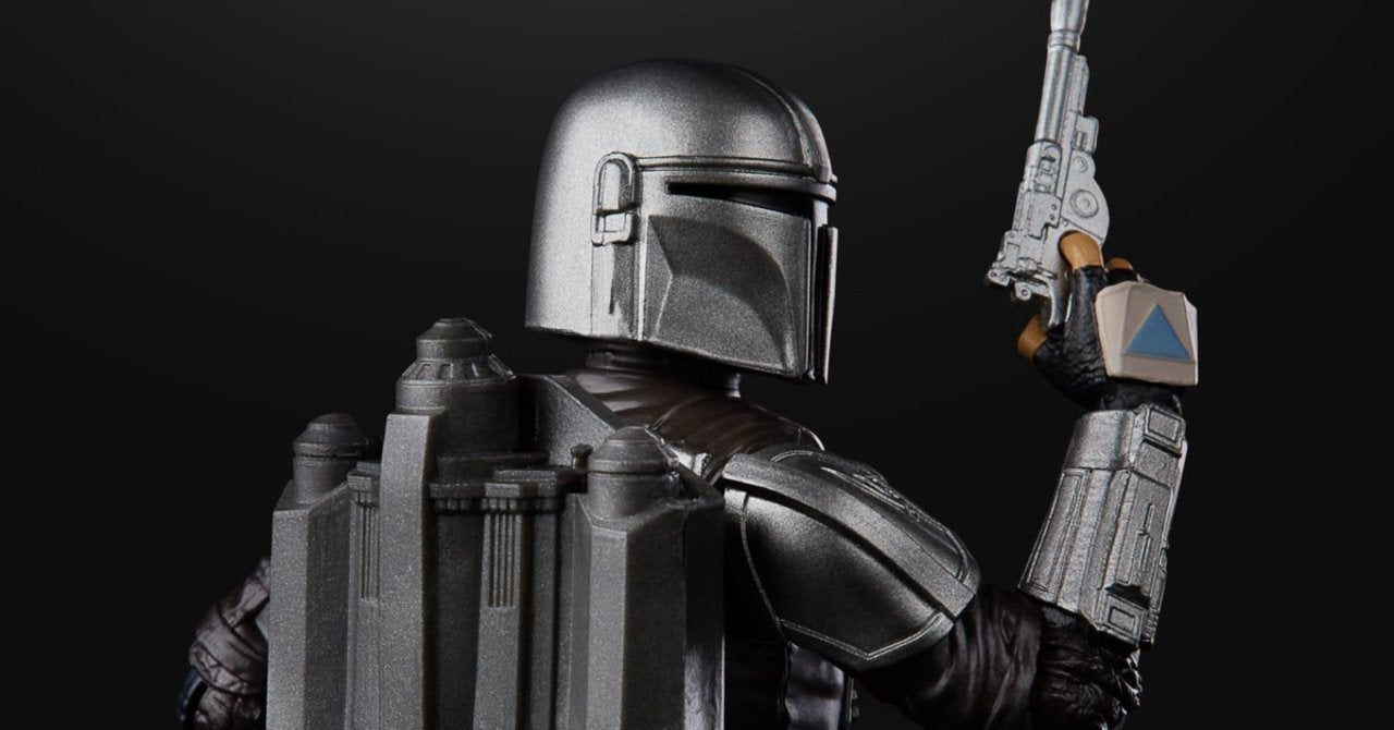 New Star Wars Black Series Figures Include The Mandalorian in Beskar Armor, Collectible Packaging Art