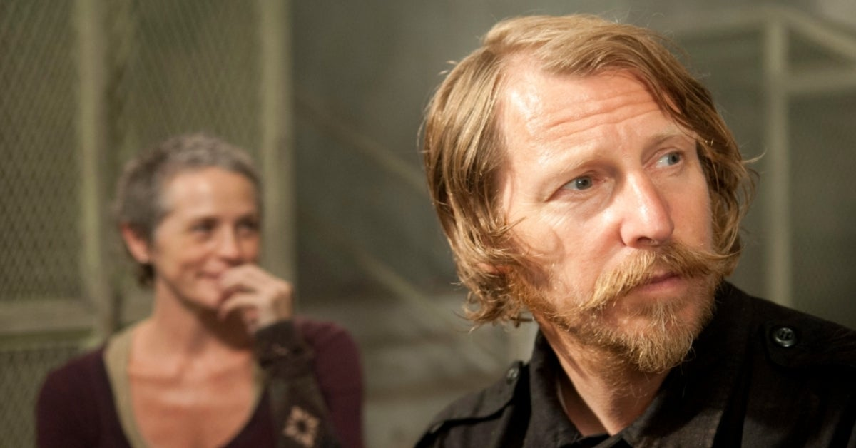 The Walking Dead Axel Lew Temple Carol Melissa McBride