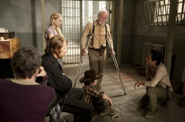 The Walking Dead Lew Temple Emily Kinney