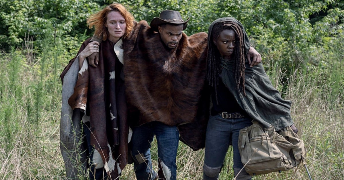The Walking Dead Michonne Danai Gurira King Bach Andrew Bachelor