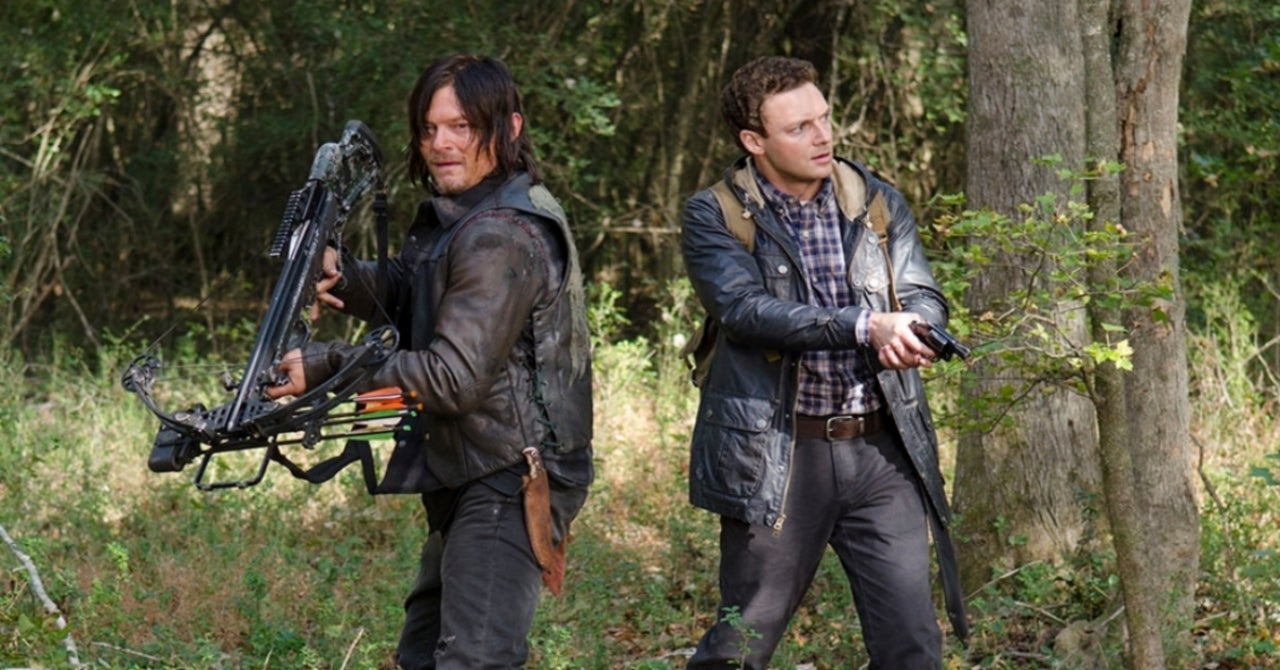 The Walking Dead's Ross Marquand Reveals How Norman Reedus Reacted to His Daryl Dixon Impression