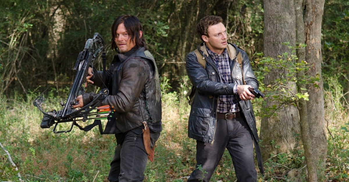 The Walking Dead Norman Reedus Ross Marquand