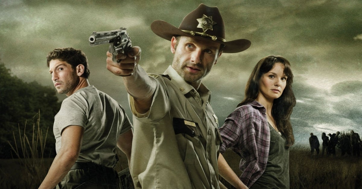 The Walking Dead Sarah Wayne Callies Andrew Lincoln Jon Bernthal