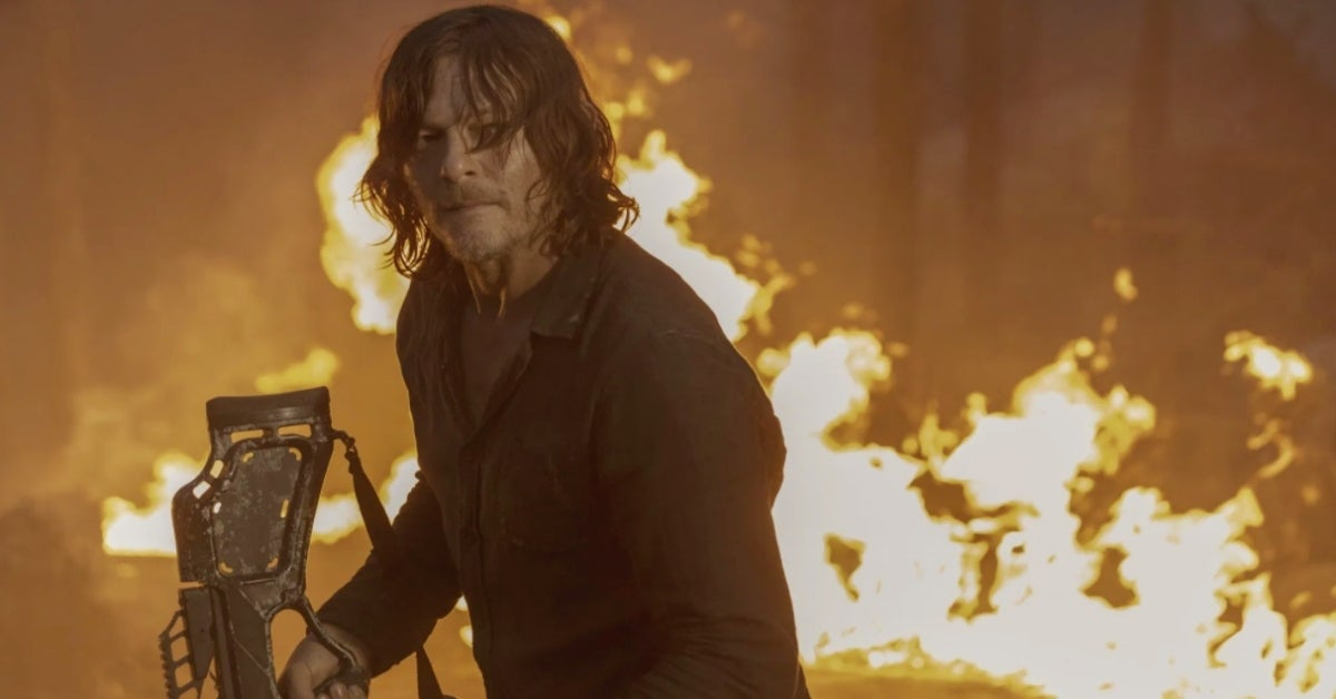 The Walking Dead Season 10 Daryl Norman Reedus