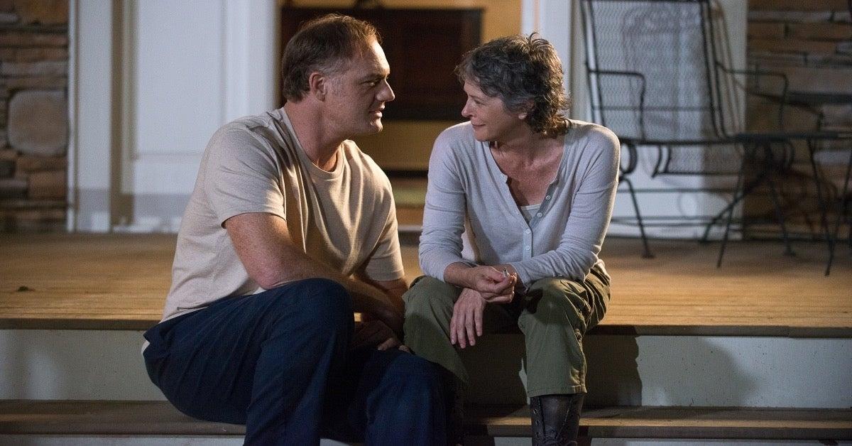 The Walking Dead Tobin Carol Jason Douglass Melissa McBride