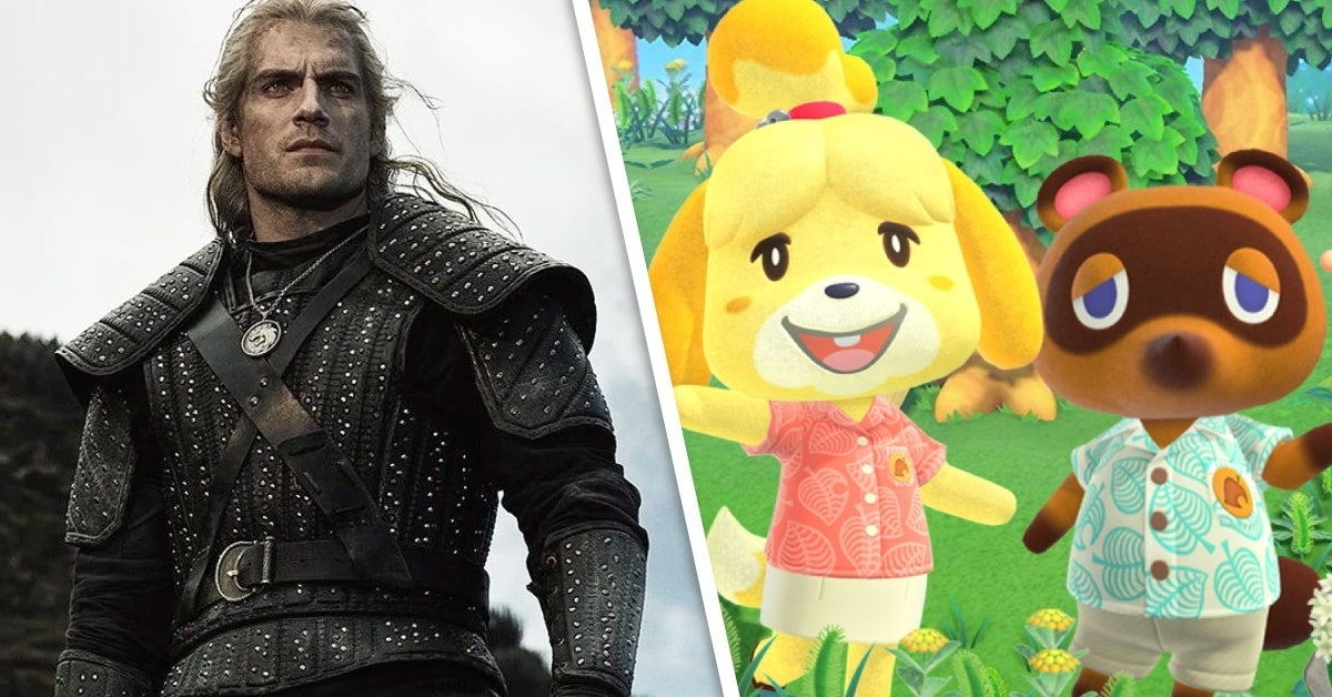 the witcher geralt animal crossing