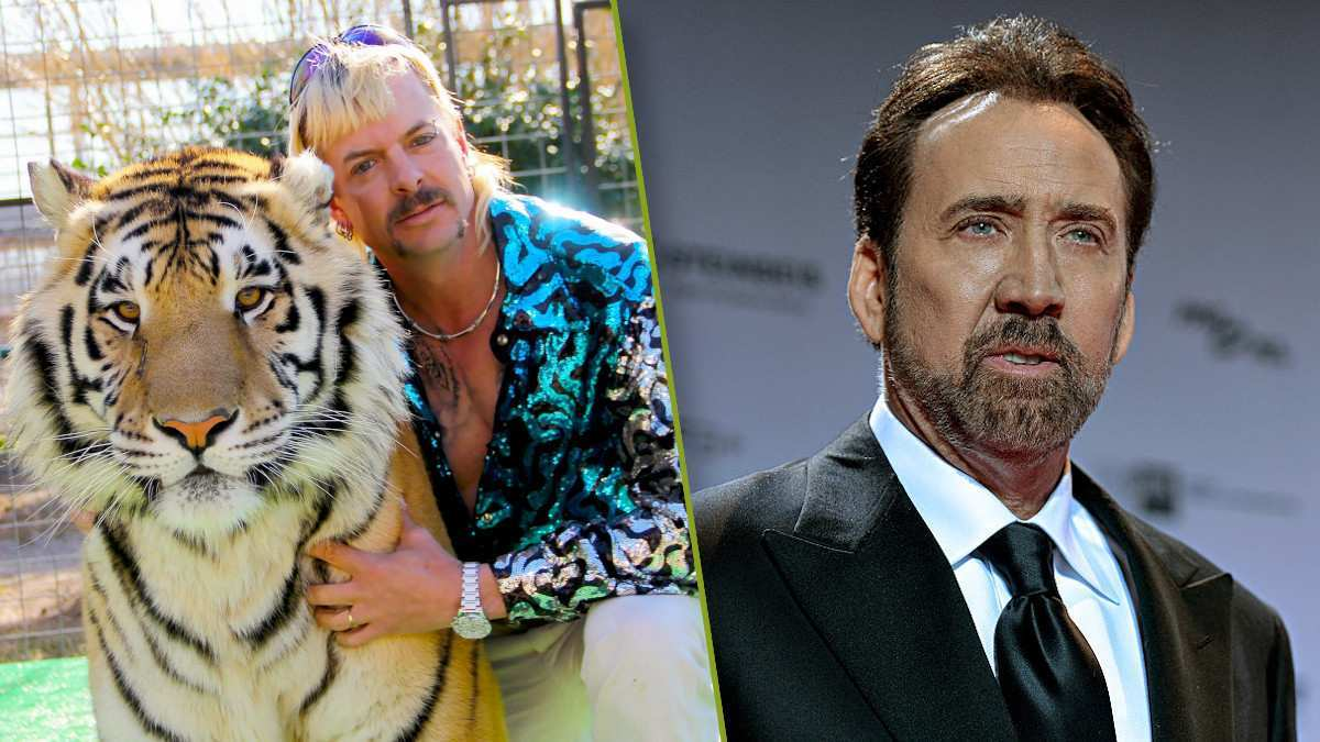 Tiger King Joe Exotic Nicolas Cage TV Show